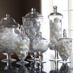 Winter Apothecary Jars