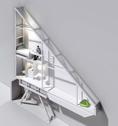 Narrowest house in the world (4 ft at its widest point). Living here would definitely motivate one to stay on a diet. keret-house-4