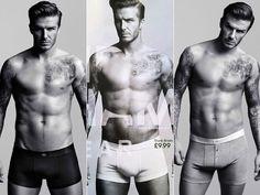 David Beckham. um, yeah...can you say HOT?!