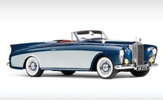 "1958 Rolls Royce Silver Cloud I ""honeymoon express"" Drophead Coupe...isnt that name a bit too long??"