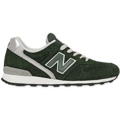 NEW BALANCE 996 Suede Sneakers ($124) ❤ liked on Polyvore