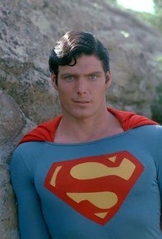 """Superman"" Christopher Reeve On Location Circa 1980"