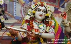 To view Radha Close Up Wallpaper of ISKCON Chowpatty in difference sizes visit - http://harekrishnawallpapers.com/srimati-radharani-close-up-wallpaper-025/