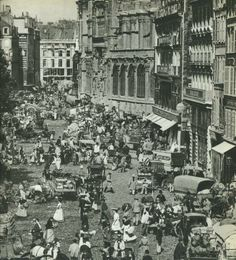 Vintage Pictures, Old Pictures, Old Photos, Old Paris, Vintage Paris, Paris Rue, Paris France, Paris Photography, Paris Photos