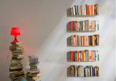 "Bibliothèque design ""JUDD"" - L 60 cm, P 15 cm, H 135 cm"