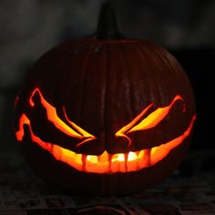 Creepy Jack 'o Lantern
