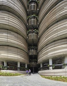 Innovative University Building in Singapore That Has No Corners - My Modern Met