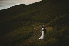 Danelle and Dirk's destination wedding in New Zealand.  #DestinationWedding
