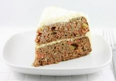 Paleo carrot cake (does use cream cheese frosting tho!)
