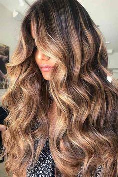 Marvelous ideas for your caramel hair color fashion balayage Hair Color Highlights, Hair Color Dark, Brown Hair Colors, Balayage Highlights, Balayage Straight Hair, Balayage Hair, Blonde Sombre, Hair Color 2017, Hair Color Caramel