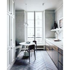 """The most beautiful kitchen inspiration from the pages of Vogue Living. 18 unique kitchen ideas to inspire you for your next renovation. Visit  VogueLiving.com.au for details. #kitchen #josephdirand #lovevl #vogueliving #inspo #interior #paris #home"" Photo taken by @vogueliving on Instagram, pinned via the InstaPin iOS App! http://www.instapinapp.com (01/03/2016)"