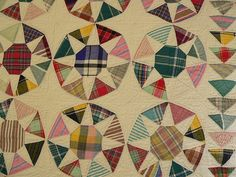 old quilt by smoothpebble, via Flickr