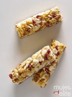 Barritas de cereales // Cereal bars, in spanish
