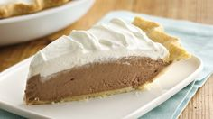 Easy chocolate dream pie