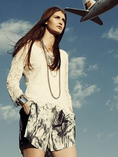 New collection @OBJECT  Elvina lace top.