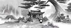 kung fu panda concept art