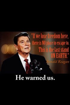 We must guard out freedom, it's precious and so many take it for granted.                                                                                                                                                      More