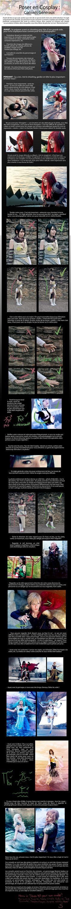 Cosplay posing tutorial by S. Photography Cosplay I would love to translate it in English, but I don't think my english level is good enough U.U