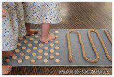Back on Trees: Senzorický koberec
