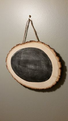 Wood Chip Rustic Chalkboard Door Wreath by 5oh4Designs on Etsy