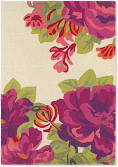 Sonderangebot Sanderson Teppich Midsummer Rose 45600