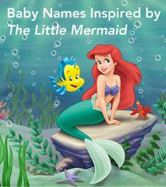 Here are are some cute names that would be perfect for a little mermaid or merman.
