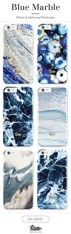 BLUE marble phone case. Available for iPhone 6/6s, 6/6s plus, 5/5s/5c ,SE & Samsung galaxy S5, S6, S7. Free shipping worldwide.