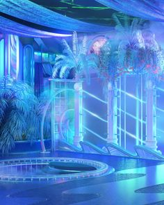 Aesthetic Space, Neon Aesthetic, Aesthetic Room Decor, Aesthetic Photo, Aesthetic Pictures, Images Esthétiques, Rainbow Room, Fantasy Places, Fantasy Landscape
