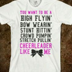 Cheerleaders  shirts http://www.halftee.com                                                                                                                                                                                 More