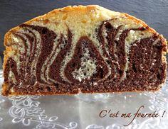 C'est ma fournée !: Le marbré italien (zebra cake)