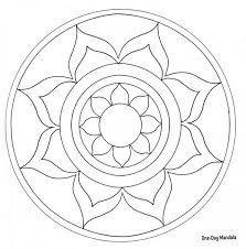 Easy level Printable Mandala Coloring Pages - Bing ImagesDecorative Rocks Ideas : Description Blank+Coloring+Page+MandalaI'm thinking I could give certain significant people in my life to design/fill in certain parts of a mandala to turn into a kinda Mandalas Drawing, Mandala Painting, Dot Painting, Blank Coloring Pages, Mandala Coloring Pages, Coloring Books, Mandala Design, Mandala Pattern, Stained Glass Patterns