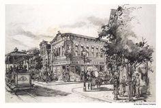 Main Street USA, Disneyland - Sam McKim