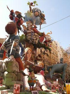 Fallas  en València  Spain