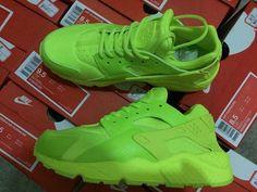 Nike Air Huarache Hot Lava All Green