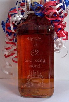 Laser etched JD bottle -  posted on Scrapbook.com    To see other etched bottles visit www.infinity-engr...