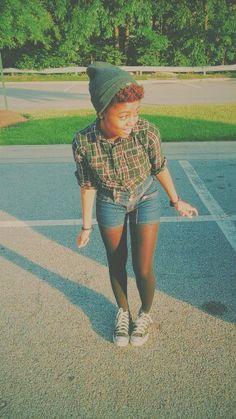 Blipster fashion!  #beanie