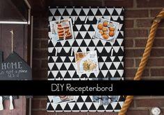 DIY Receptenbord