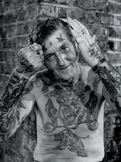 """""""What about when you're older?"""" ... """"I'll just be hanging out with other bad-ass, tattooed people."""""""