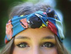 10 ways to wear a head scarf