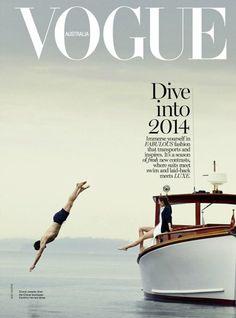 Vogue Australia January 2014