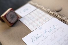 WEDDING INVITATIONS - HANDMADE BY LORYLE PHOTOGRAPHY  I Loryle Photography, Como I www.loryle.com #matrimonio #wedding