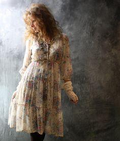 hippy gypsy dress