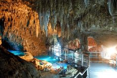 okinawa sites to see   Okinawa - underground cave - thermally heated, miles long and amazing ...