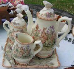 Vintage Peter Rabbit Tea Service