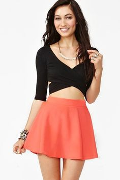 Nasty Gal circle skirt (Circle skirts are my current obsession!!!)
