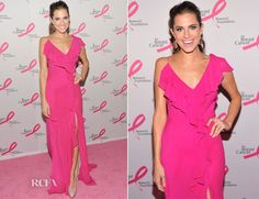 Allison Williams In Donna Karan – The Breast Cancer Research Foundation's 'Hot Pink Party'