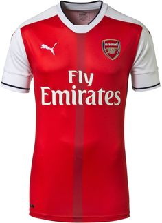 Arsenal's new 2016-2017 jersey introduces a classy design.