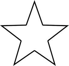 Stern zum ausdrucken dann könnt ihr die Vorlage