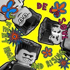 Hip Hop albums with Legos