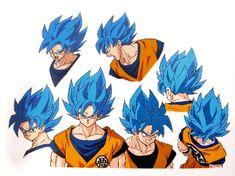 anizeen - anime to change the world! Dragon Ball Z, Dragon Ball Image, Goten Y Trunks, Foto Do Goku, Dbz Drawings, Manga Anime, Goku Pics, Manga Dragon, Ssj3